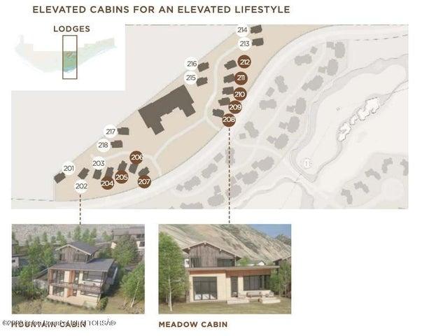 Lodge Cabins - Map