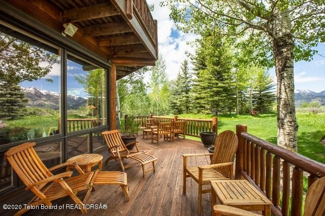 1. Patio and Tetons