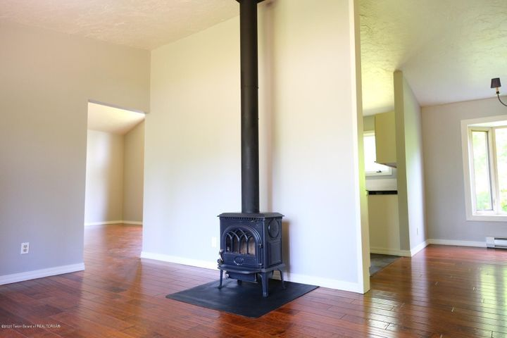 11 Family Room with Wood Burning Stove