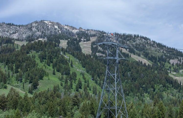 Ski Runs and Tram Tower