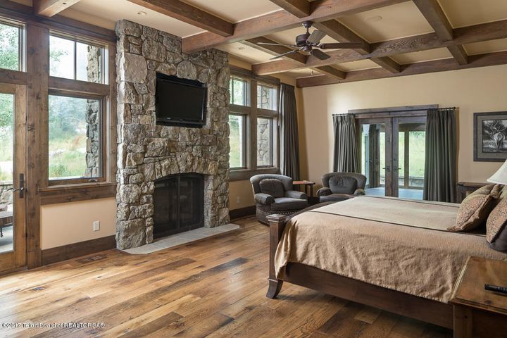 Master Bedroom + Fireplace