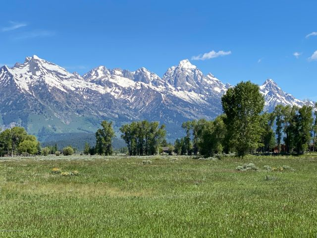 Teton View from home