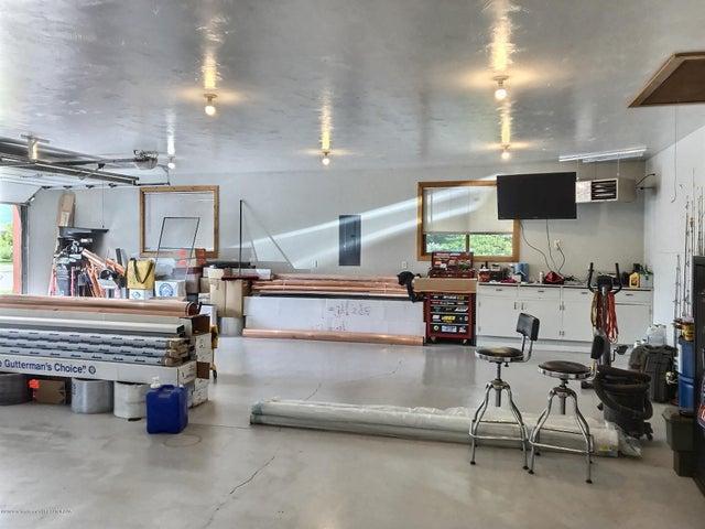 Expansive Garage