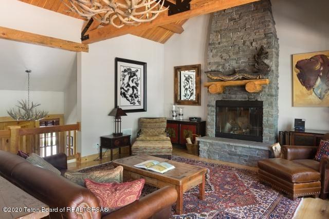 3. Living area fireplace