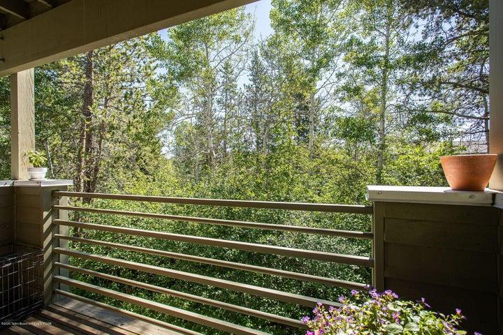 View off Bedroom Deck