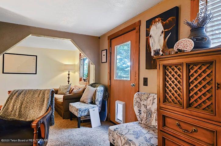 Guest house back door