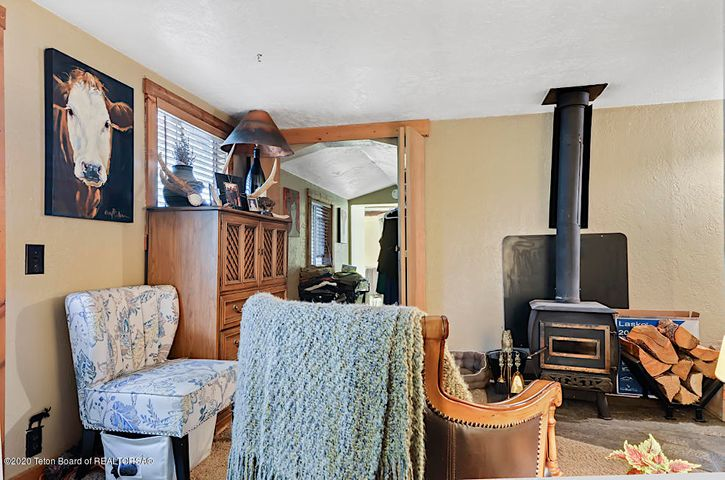 Guest house woodstove