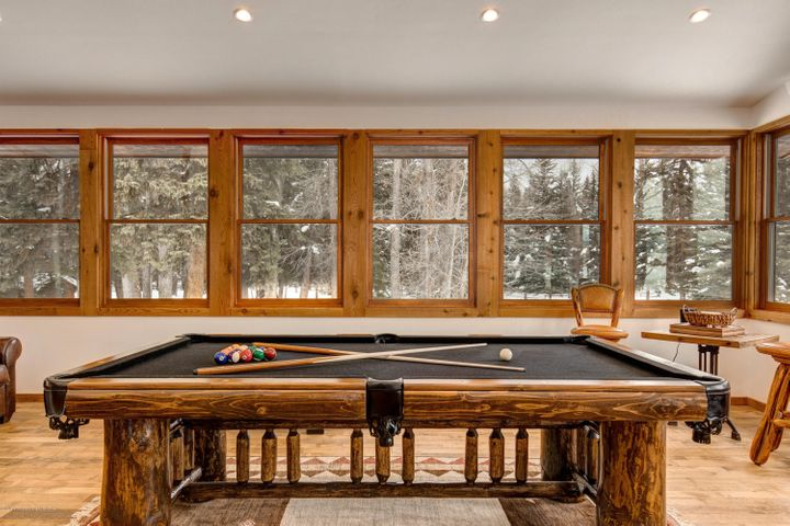 Game room with a view