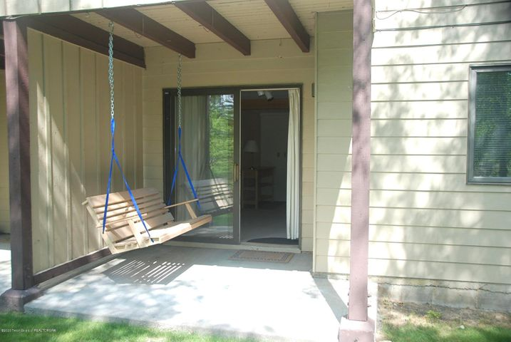 Deck and Swing
