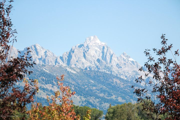 Grand Teton Views from Outdoor Deck