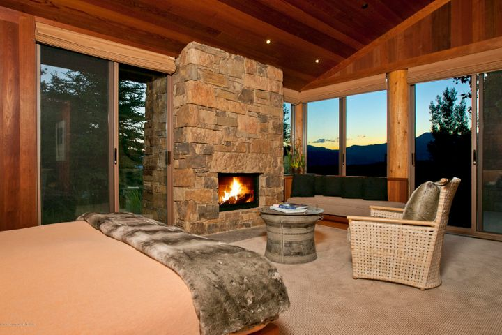 8 Master Bedroom with Mountain View