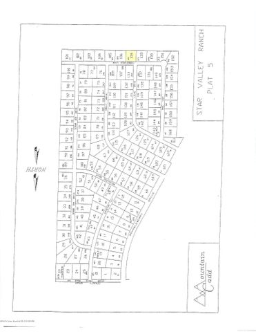 LOT 134 P5 TUMBLEWEED  <br>Star Valley Ranch, WY