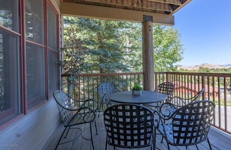 Deck with Elk Refuge Views