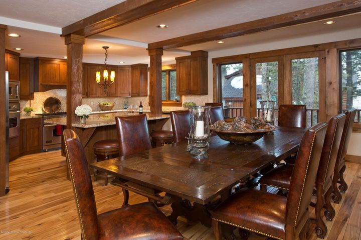 Blue Moose Lodge Dining Table