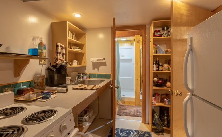Small Kitchen Downstaris