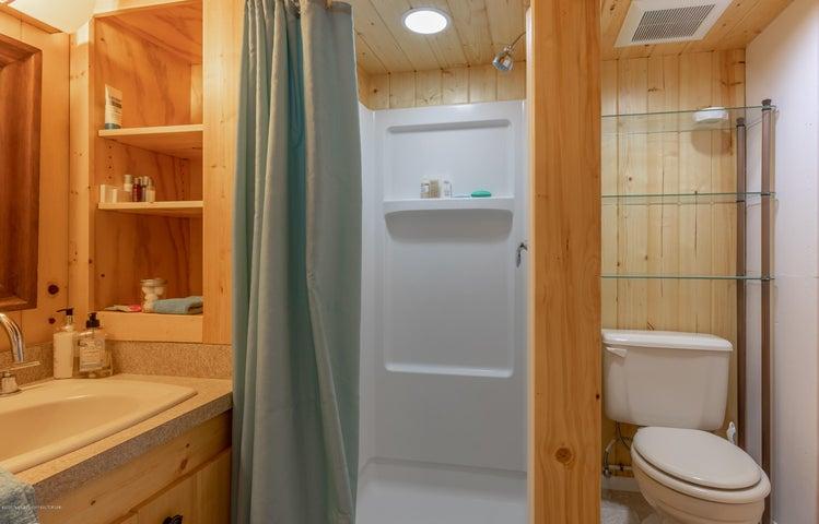 3/4 Bathroom Downstairs