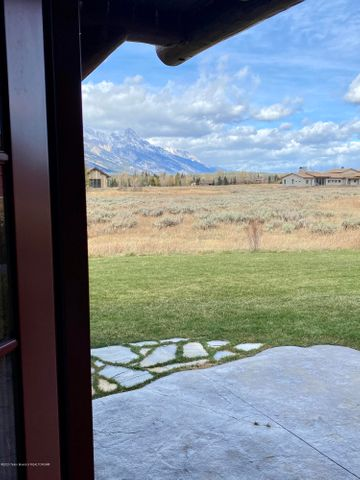 view from guest bedroom patio