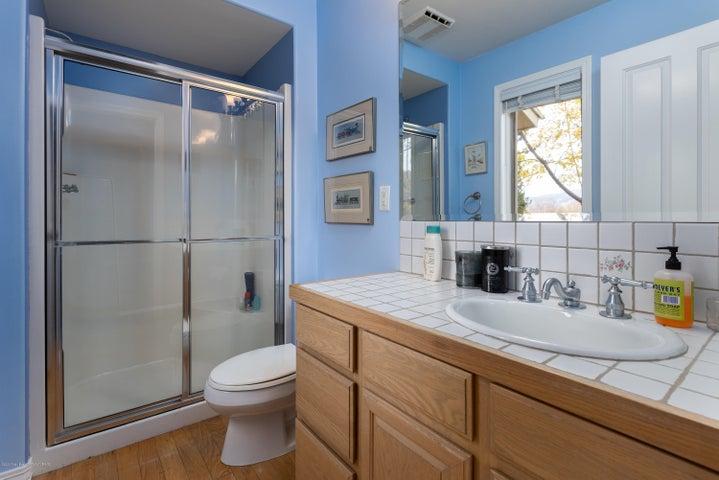 Bedroom 2 with en-suite bath