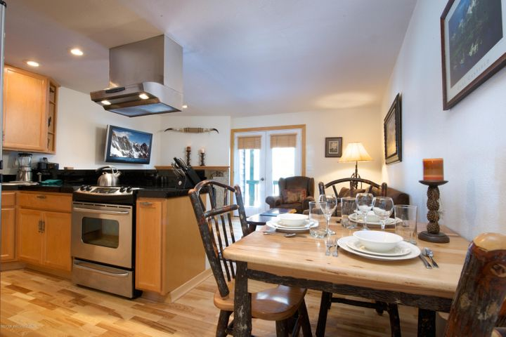5- Dining, Kitchen + Living