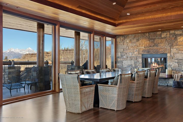 Dining Room with View