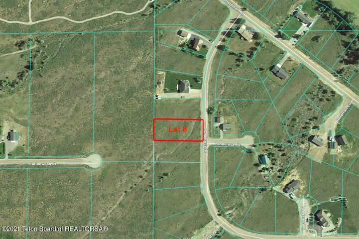 LOT 8 PONDEROSA  <br>Star Valley Ranch, WY