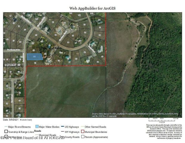 LOT 54 BUTTE DR, Star Valley Ranch, WY 83127
