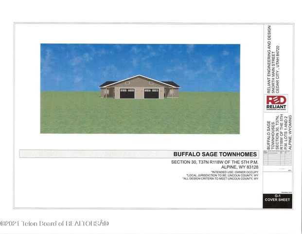 4 BUFFALO SAGE TOWNHOM, 4, Alpine, WY 83128