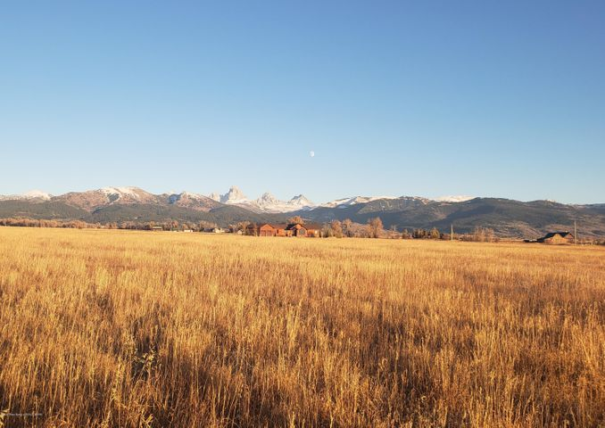 Mid day Teton Views