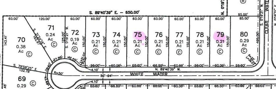 Lot 75 Whitewater, Saltillo, MS 38866