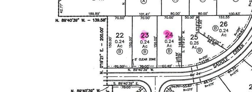 Lot 24 Cane Creek, Saltillo, MS 38866