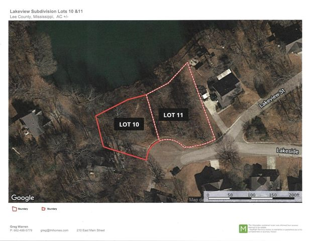 Lakeside Dr. Lot #10, Saltillo, MS 38866