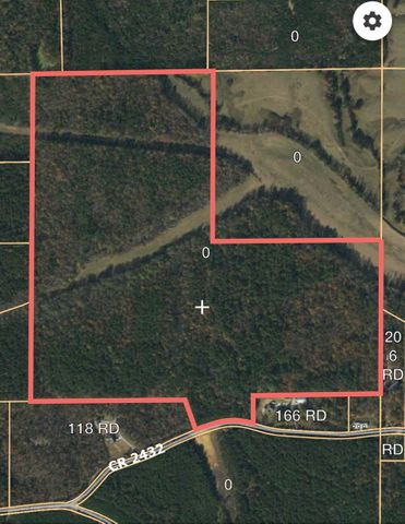126 Acres east of Guntown on County Road 2432.  Mixed timber on land is less than 20 years old.  A creek runs through the property.  Could be used for hunting.  Property subject to survey.  Agents is related to seller.  All info subject to verification.