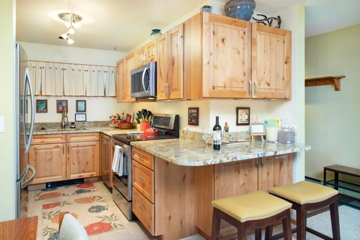 Kitchen was completely remodeled in 2017 and includes all the comforts of home.