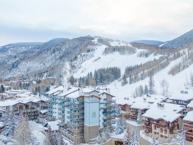 Lodge Tower and Vail Mountain