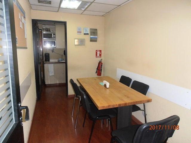 Oficina Distrito Metropolitano>Caracas>Los Ruices - Alquiler:520 US Dollar - codigo: 17-14653