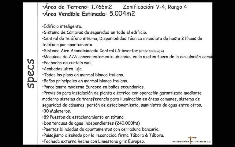 Apartamento Distrito Metropolitano>Caracas>Las Mercedes - Venta:257.600 Precio Referencial - codigo: 18-7419