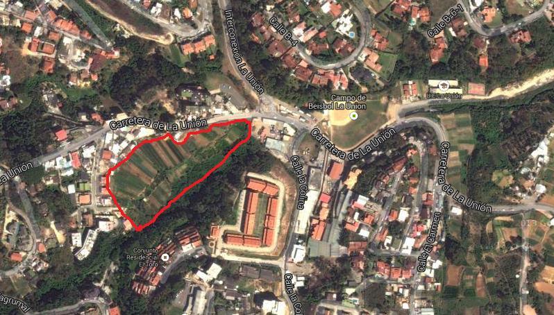 Terreno Distrito Metropolitano>Caracas>La Union - Venta:6.500.000 Precio Referencial - codigo: 18-13990