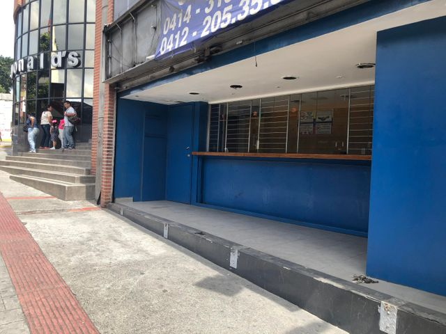 Local Comercial Distrito Metropolitano>Caracas>Las Acacias - Alquiler:450 Precio Referencial - codigo: 19-18535