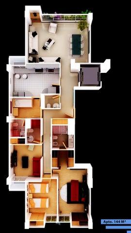 Apartamento Distrito Metropolitano>Caracas>Lomas de Las Mercedes - Venta:324.000 Precio Referencial - codigo: 20-4144
