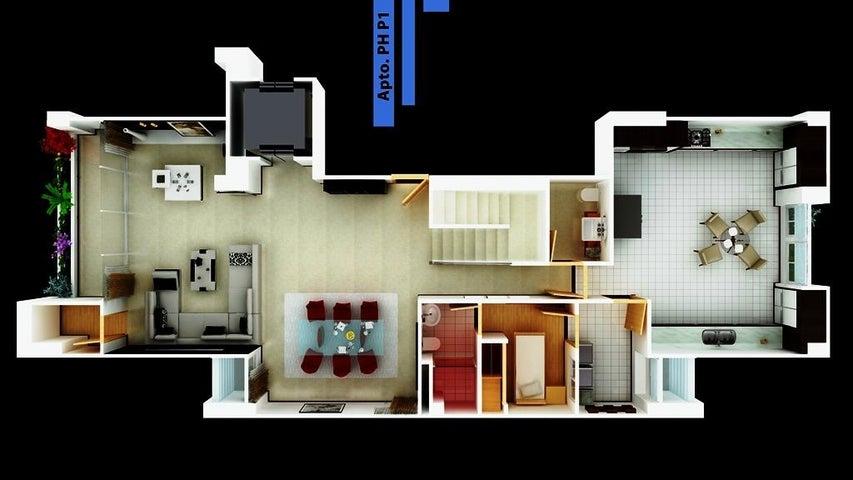 Apartamento Distrito Metropolitano>Caracas>Lomas de Las Mercedes - Venta:750.600 Precio Referencial - codigo: 20-4154