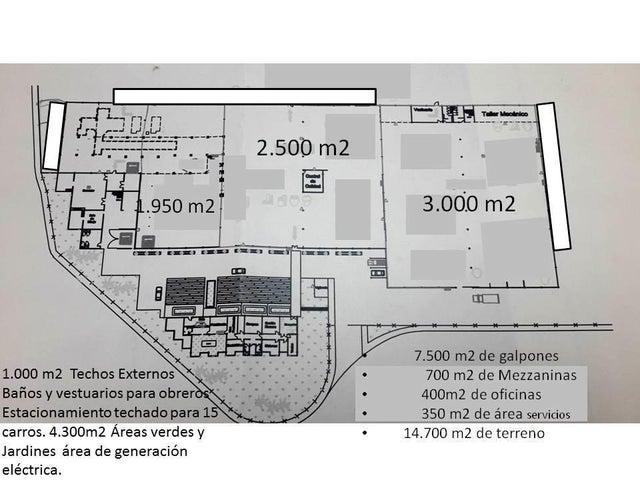 Galpon - Deposito Miranda>Valles del Tuy>Santa Teresa del Tuy - Alquiler:1.500 Precio Referencial - codigo: 20-20909