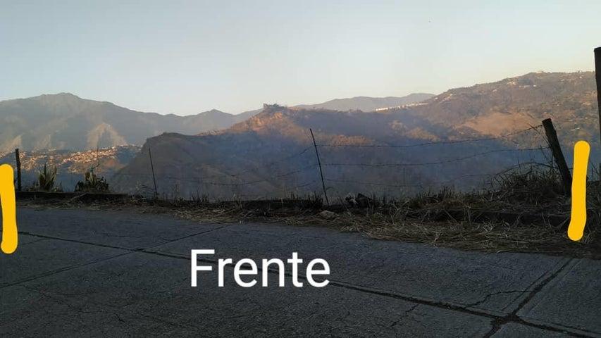Terreno Distrito Metropolitano>Caracas>Caicaguana - Venta:10.000 Precio Referencial - codigo: 21-14805