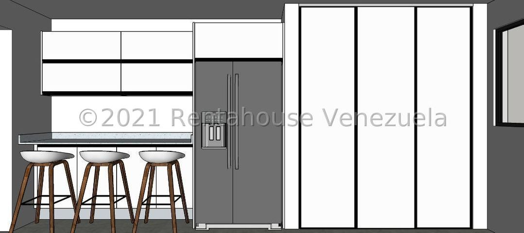 Apartamento Distrito Metropolitano>Caracas>Los Naranjos del Cafetal - Venta:110.000 Precio Referencial - codigo: 21-22744