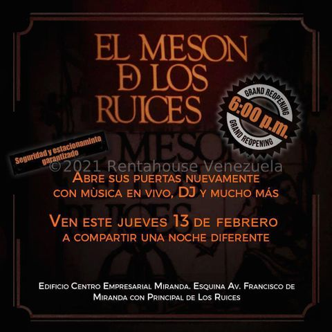 Local Comercial Distrito Metropolitano>Caracas>Los Ruices - Venta:495.000 Precio Referencial - codigo: 21-23701