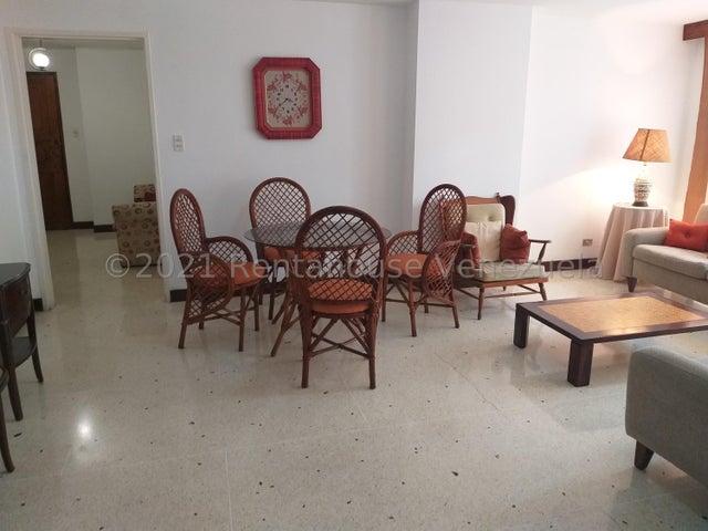 Apartamento Distrito Metropolitano>Caracas>Los Palos Grandes - Alquiler:1.100 Precio Referencial - codigo: 21-25239