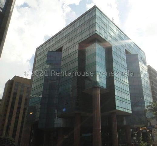 Oficina Distrito Metropolitano>Caracas>El Rosal - Venta:548.256 Precio Referencial - codigo: 21-27571