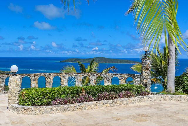 Virgin Islands Castle On The Coast Of St. Croix: A Luxury