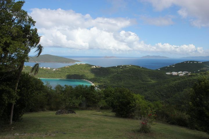 Dramatic views of Magen's Bay from the home and pool over to Peterborg Peninsula and beyond