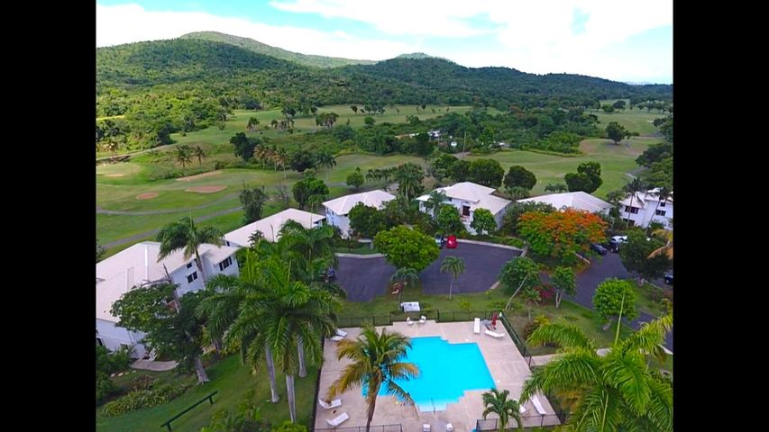 Birds eye view of Saman Estate River, PR