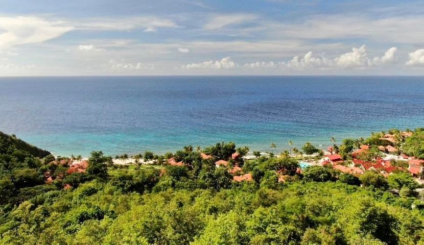 Views from knowltop location. Looking North North West over Carambola Beach Resort.